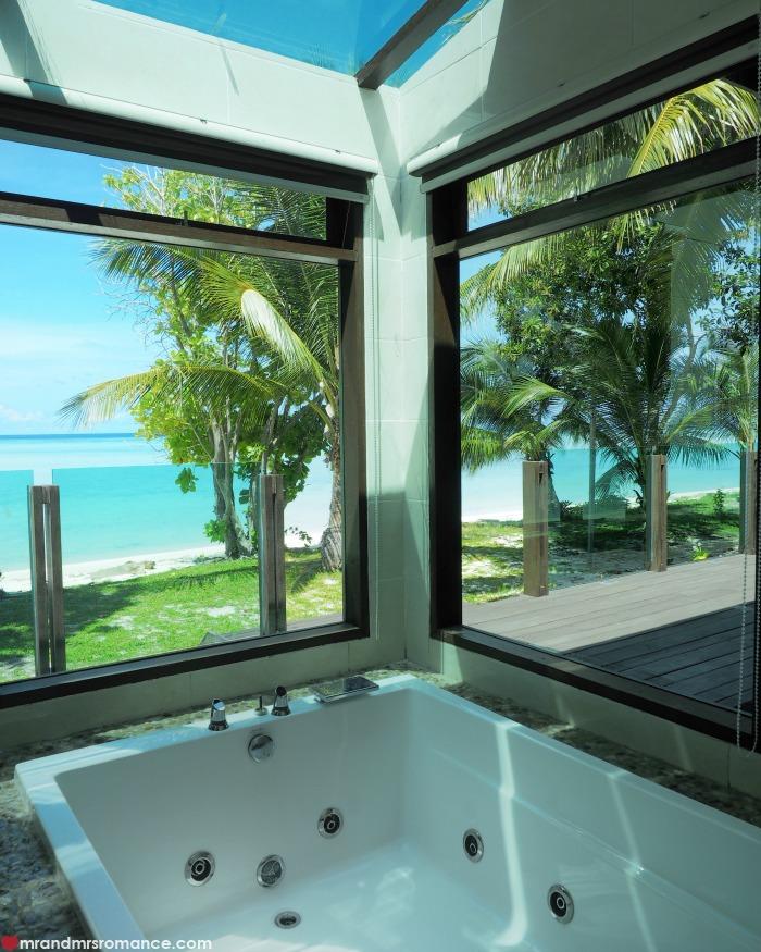 Mr & Mrs Romance - IG Edition Sabah - 25 spa bath at Mataking Island