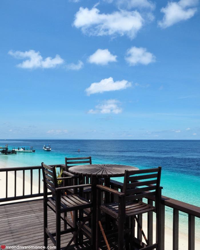 Mr & Mrs Romance - IG Edition Sabah - 27 lunch spot Mataking Island