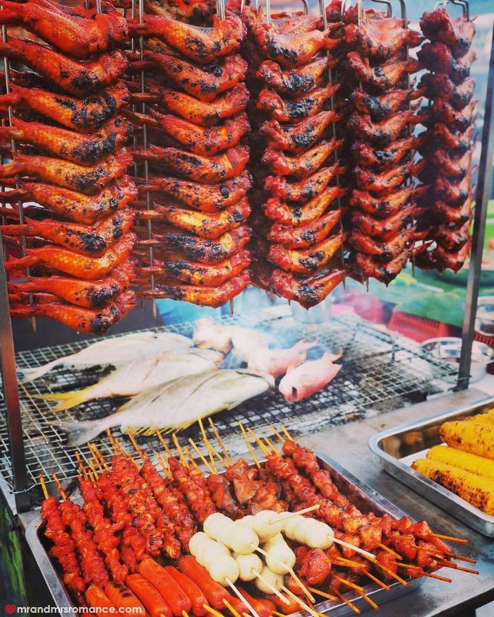 Mr & Mrs Romance - IG Edition Sabah - 4 food at the waterfront markets KK