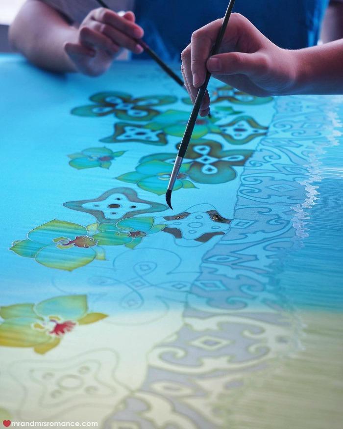 Mr & Mrs Romance - IG Edition Sabah - 5 batik art KK