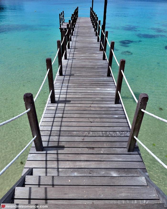 Mr & Mrs Romance - IG Edition Sabah - 8 Gaya Island jetty