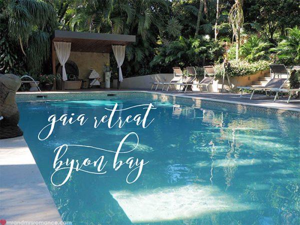 Mr and Mrs Romance - Gaia Retreat Review Byron Bay NSW