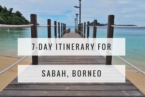 Mr and Mrs Romance - a quick itinerary for Sabah Borneo