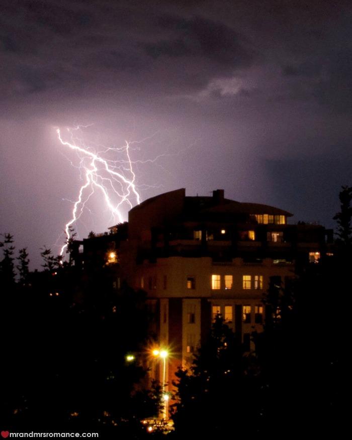 Mr & Mrs Romance - struck by lightning