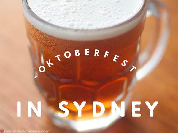 Mr and Mrs Romance - Oktoberfest in Sydney