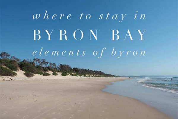 Mr and Mrs Romance - Where to stay in Byron Bay - Elements of Byron review