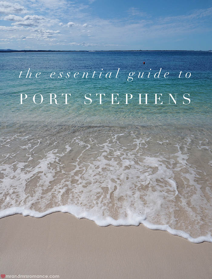 Mr and Mrs Romance - our essential guide to Port Stephens NSW Australia