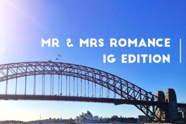Mr & Mrs Romance - IG Edition - title