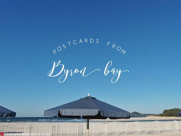 Mr and Mrs Romance - Postcards from Byron Bay NSW