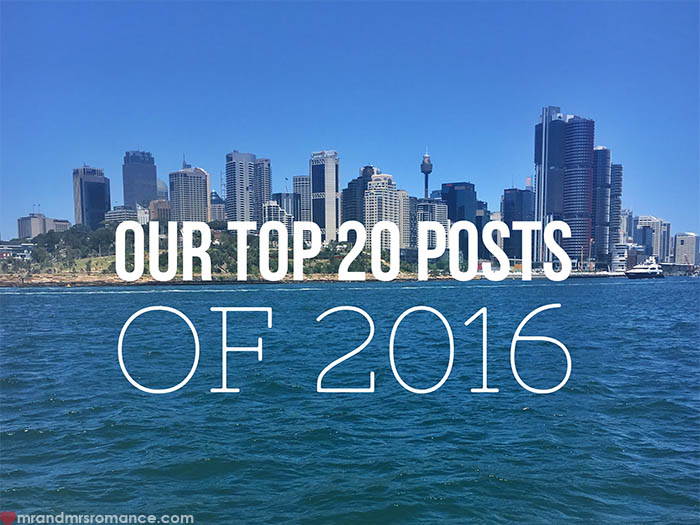Mr and Mrs Romance - Our top 20 posts of 2016