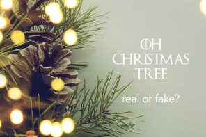 He Said, She Said: do you get a real or fake Christmas tree?