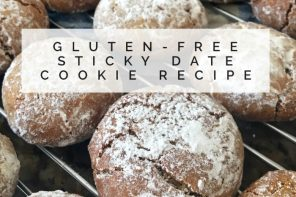 How to make dangerous gluten-free sticky date cookies