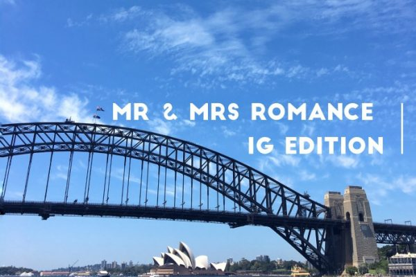 Mr & Mrs Romance - IG Edition - 1 feature