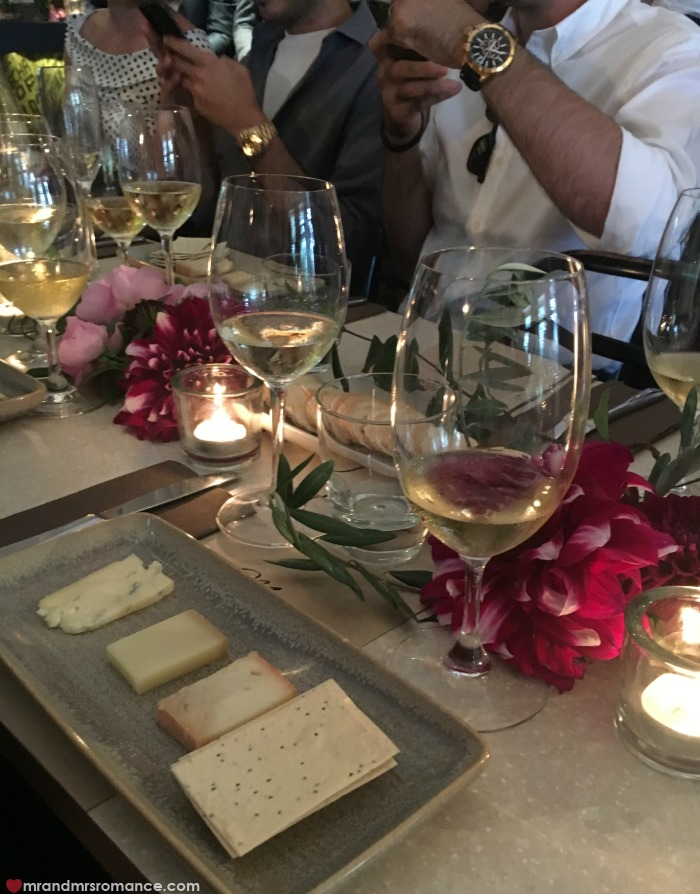 Mr & Mrs Romance - IG Edition - 34 Nespresso wine and cheese