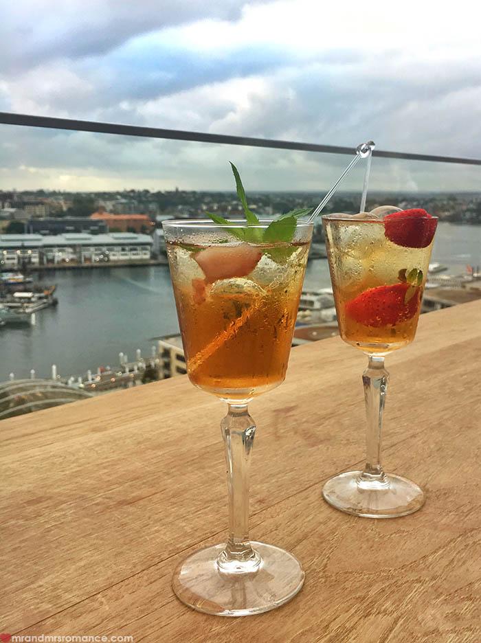 Mr and Mrs Romance - IG Edition - 25 Zephyr rooftop bar Hyatt Regency Sydney
