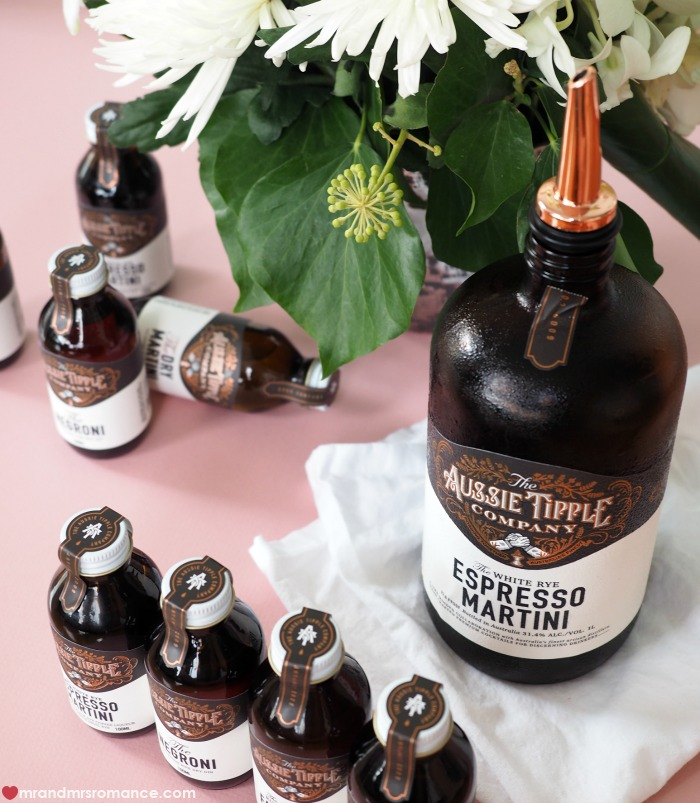 Mr and Mrs Romance - boozy Valentine's Day gift ideas - Aussie Tipple Co