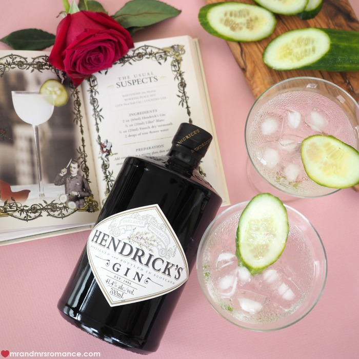 Mr and Mrs Romance - boozy Valentine's Day gift ideas - Hendrick's gift pack