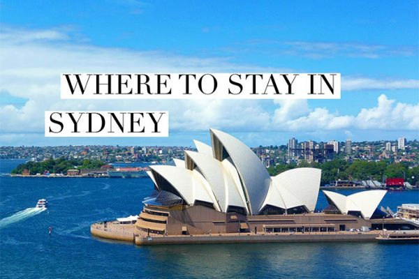 Mr and Mrs Romance - Where should you stay in Sydney - best hotels for all budgets