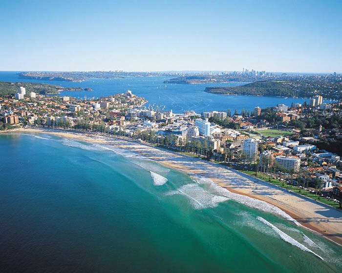 Where to stay in Sydney - Manly Beach Sydney