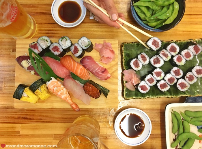 Mr & Mrs Romance - IG Edition - 16 sushi