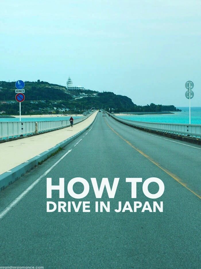 Mr and Mrs Romance - how to drive in Japan