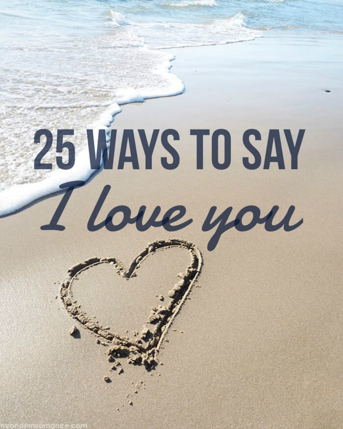 Mr & Mrs Romance - love language 25 ways - 1 feature