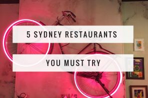 5 Foodie Finds – Sydney restaurants that'll make you think