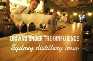 Driving under the ginfluence – a gin distillery tour of Sydney
