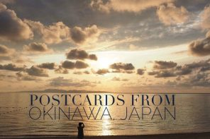 What is it like in tropical Japan? Our Postcards from Okinawa