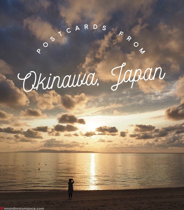 Mr and Mrs Romance - Postcards from Okinawa Japan - title