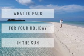 What to pack for your holiday in the sun