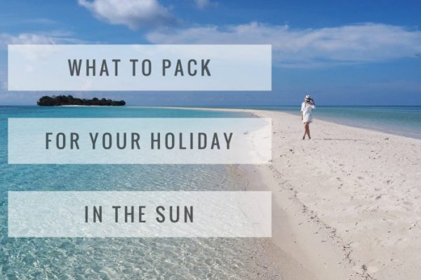 Mr and Mrs Romance - what to pack for a hot holiday
