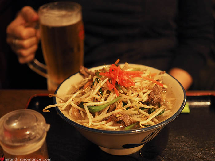 Mr and Mrs Romance - what to eat in Okinawa - soba