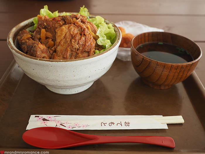 Mr and Mrs Romance - what to eat in Okinawa - agu wild boar
