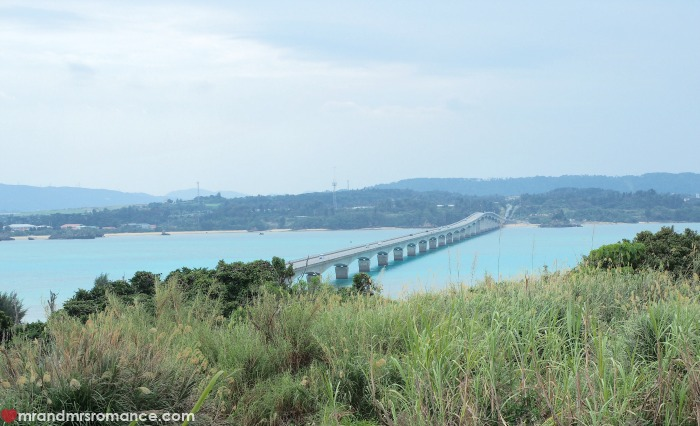 Mr & Mrs Romance - where locals eat in Okinawa - Kouri Bridge