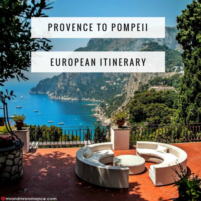 Provence to Pompeii - 2-week European itinerary