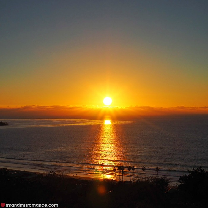 San Diego sunset La Jolla