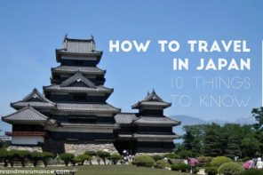 How to travel in Japan – 10 things you need to know
