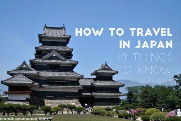 Travel tips for Japan - Mr & Mrs Romance