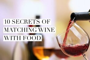 10 secrets of matching wine with food