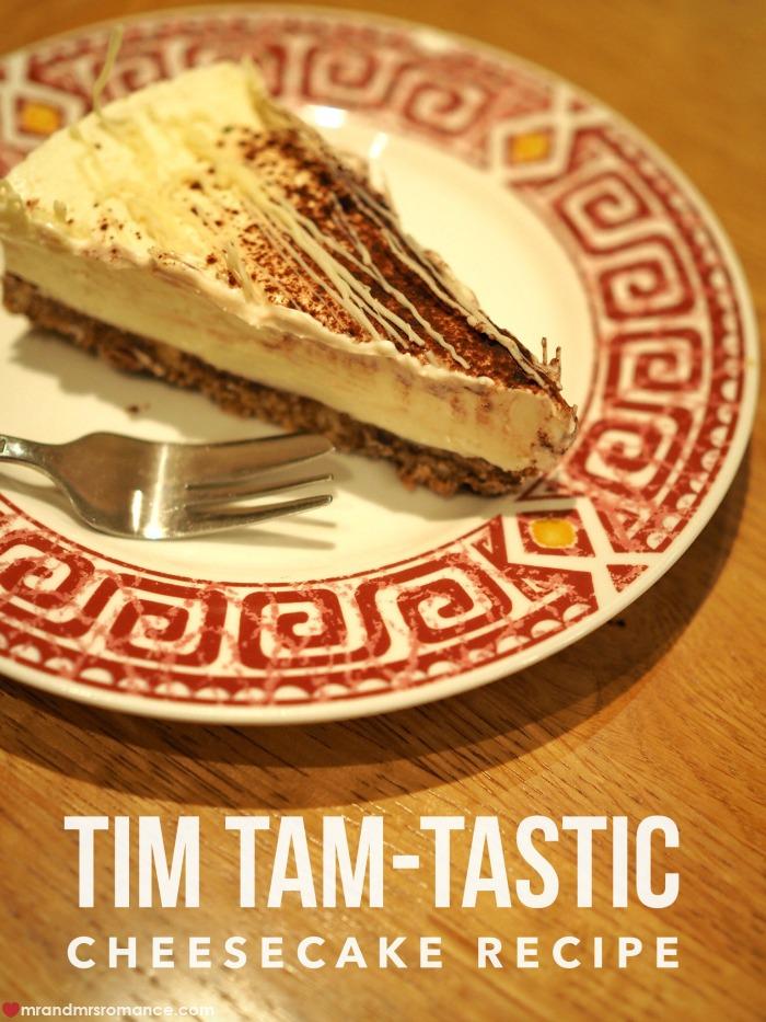 Tim Tam cheesecake recipe - Mr & Mrs Romance