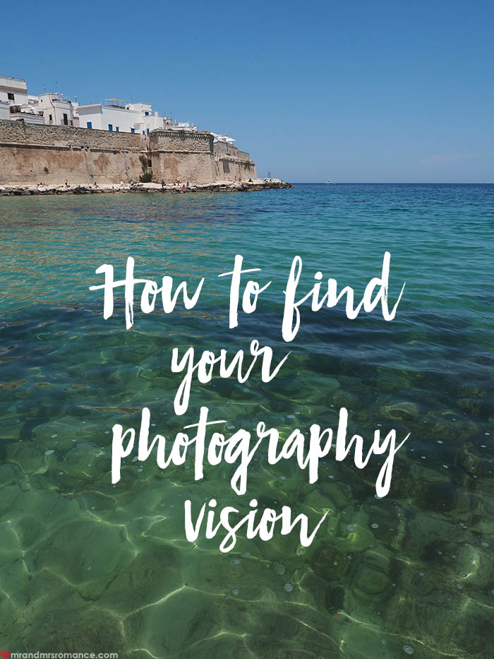 Find your photography vision