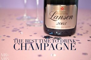 The best time to drink Champagne