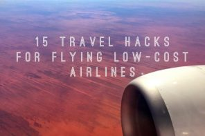 15 travel hacks for when you're flying low-cost airlines