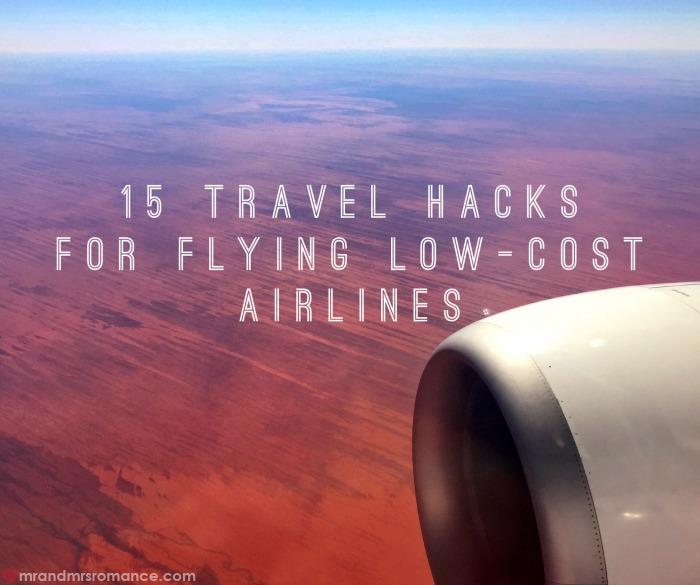 Low-cost airlines - 15 travel hacks