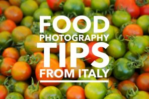 How to photograph food – 5 top tips from Italy