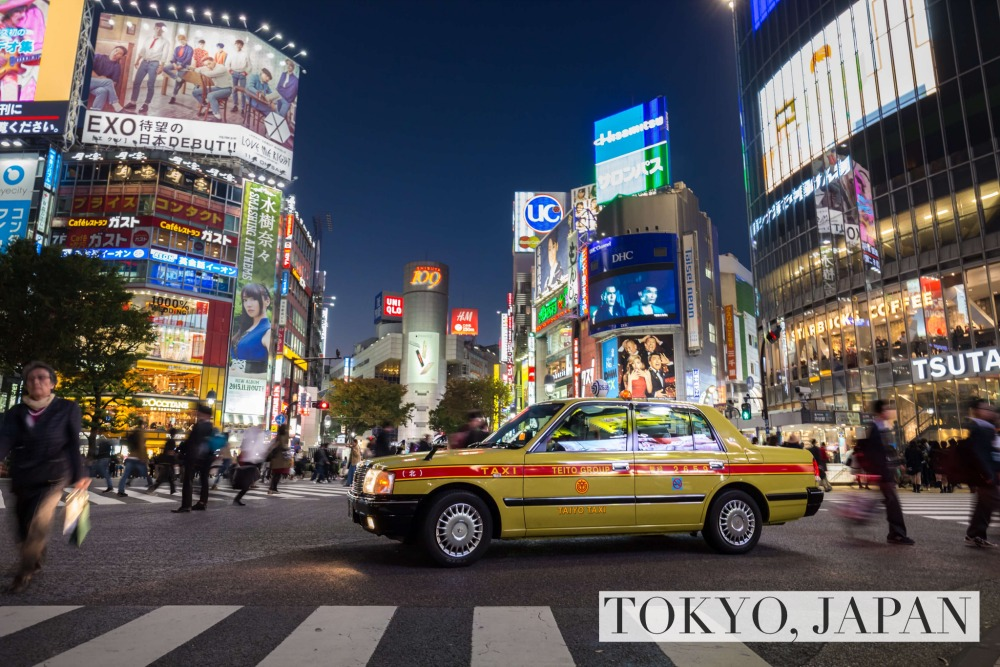 Taxis ripping us off - Tokyo