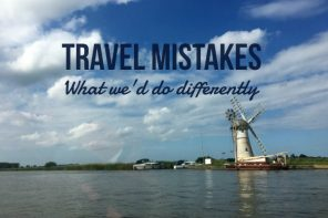 Travel mistakes – 3 things we would have done differently last trip