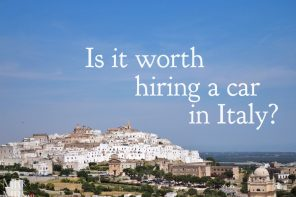 Is it worth hiring a car in Italy?