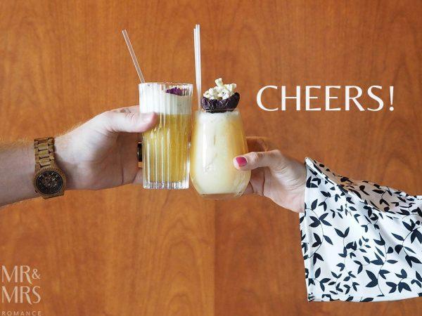Mr & Mrs Romance - Four Seasons Hotel Sydney - Grain Bar Mr Watson cocktail